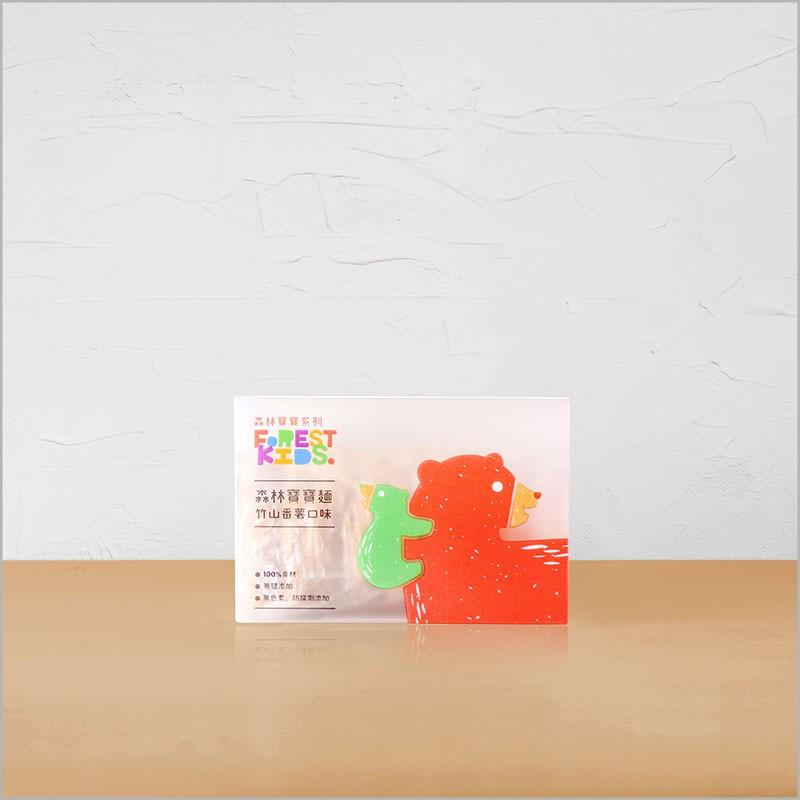 【森林麵食】森林蕃薯寶寶麵一盒(8入)|7個月以上|副食品|育兒食品|嬰兒麵條
