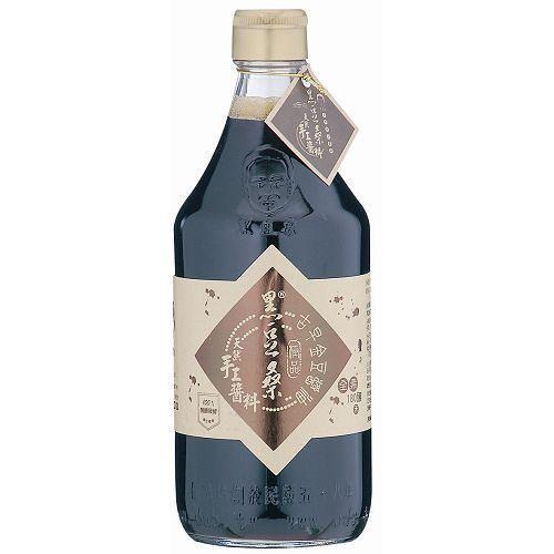屏東黑豆桑純釀古早金豆醬油600g(550ml)【愛買】