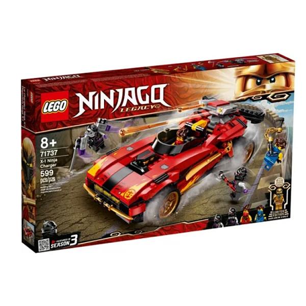 71737【LEGO 樂高積木】Ninjago 忍者系列 - X-1忍者電極跑車