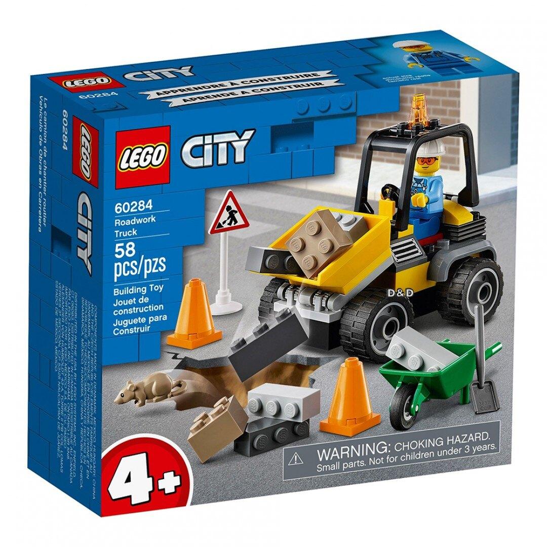 樂高LEGO 60284 City Great Vehicles 城市系列 道路工程車