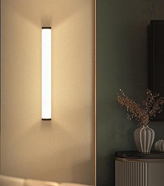 樓梯燈 人體感應燈小夜燈家用過道樓梯道聲光控長條智慧衣櫃櫥床頭充電 DF 維多原創