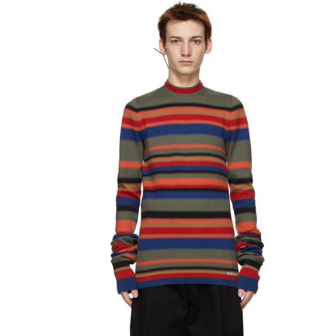 Y/Project 多色 Retro Rainbow Maxi Sleeve 毛衣