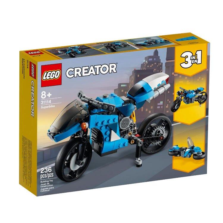 31114【LEGO 樂高積木】Creator 創意大師系列 - 超級摩托車