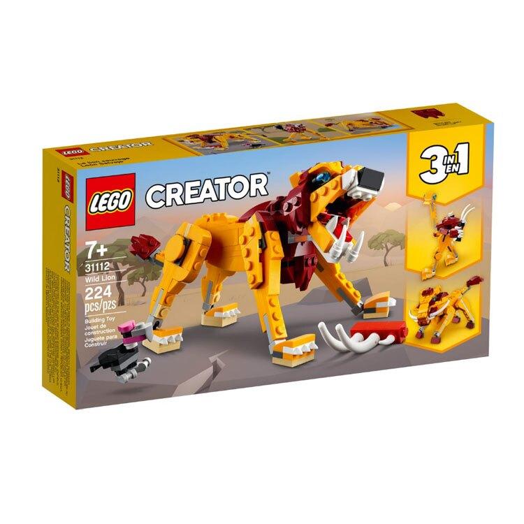 31112【LEGO 樂高積木】Creator 創意大師系列 - 野獅
