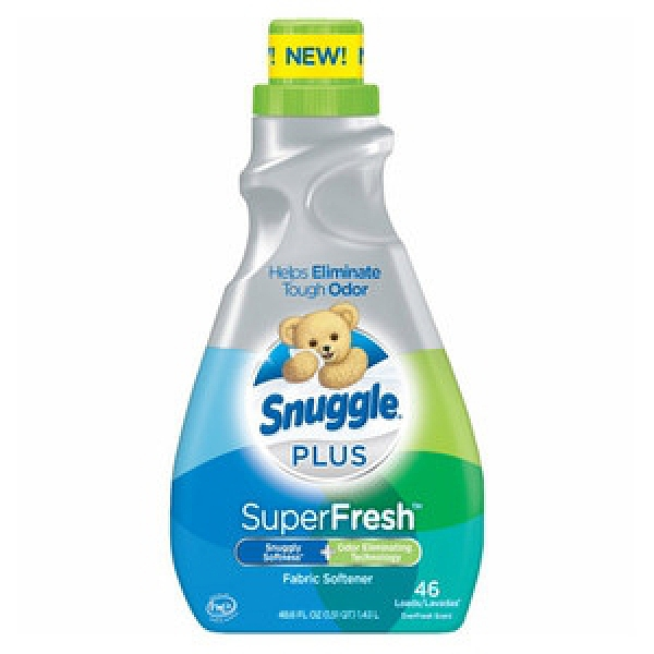 美國Snuggle衣物柔軟精3倍濃縮(1430ml)-超級清新*2
