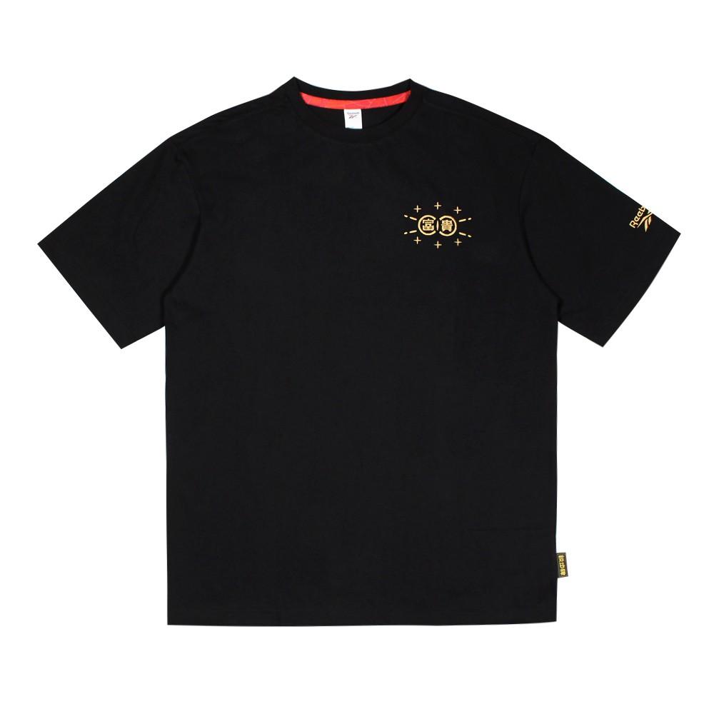 REEBOK 男 圓領短袖T恤 CL NEW YEAR MAGPIE TEE 新年 - GT7383