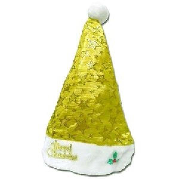 摩達客 閃亮金星聖誕帽-耶誕派對造型