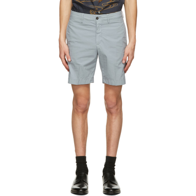 Dunhill 蓝色百慕大短裤