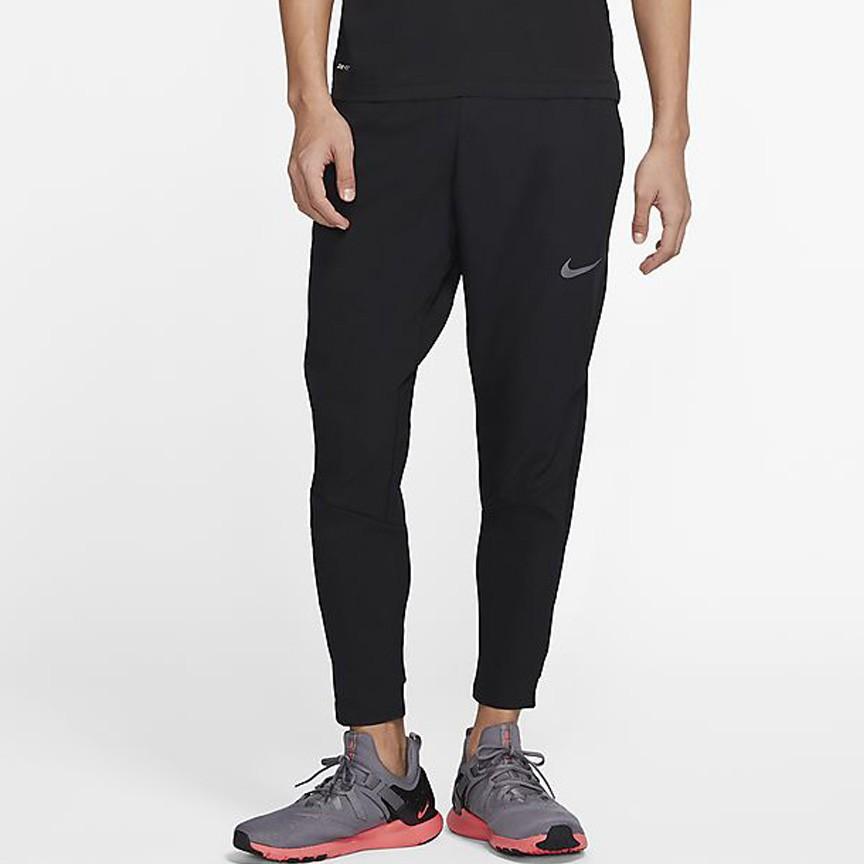 Nike Pro Dri-FIT 男裝 長褲 窄管 彈性 休閒 排汗 速乾 口袋 黑【運動世界】CJ2219-010