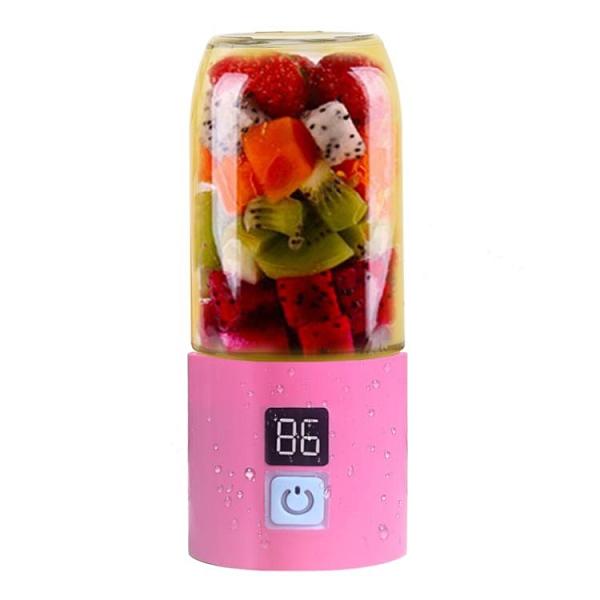 榨汁機 鏈果便攜式榨汁機全自動迷你小型學生隨身充電動榨汁杯子水果汁機【快速出貨八折搶購】