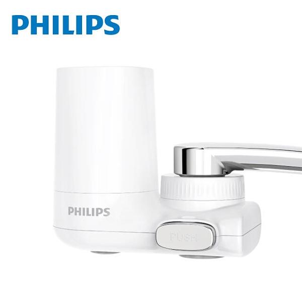 免運費 PHILIPS 飛利浦 超濾龍頭型 4重plus(5層過濾) 2段式濾芯 淨水器/濾水器 AWP3753 日本原裝