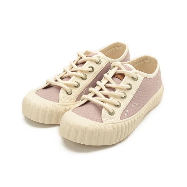 KANGOL 韓版撞色帆布餅乾鞋 紫 6052200392 女鞋 休閒│綁帶