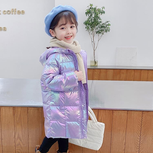 兒童羽絨服 2021新款中長款男女童加厚小孩冬季童裝外套洋氣【快速出貨八折鉅惠】