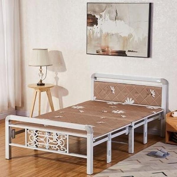 多功能床 單人床折疊床雙人折疊兒童床午睡床木板床午休床1米1.5米床 DF 艾維朵