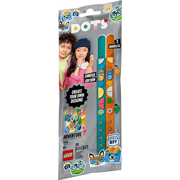樂高積木 LEGO《 LT41918 》DOTS 系列 - 豆豆手環 動物冒險記 / JOYBUS玩具百貨