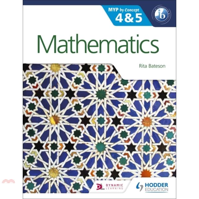 Mathematics for the IB MYP 4 & 5:By Concept【三民網路書店】[79折]