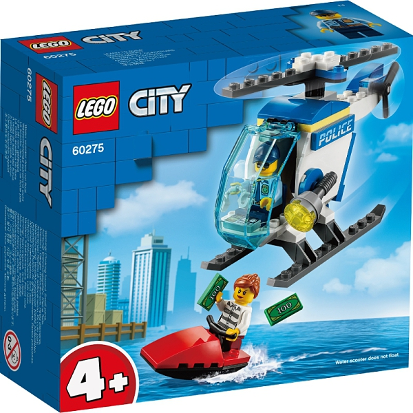樂高積木Lego 60275 警用直升機