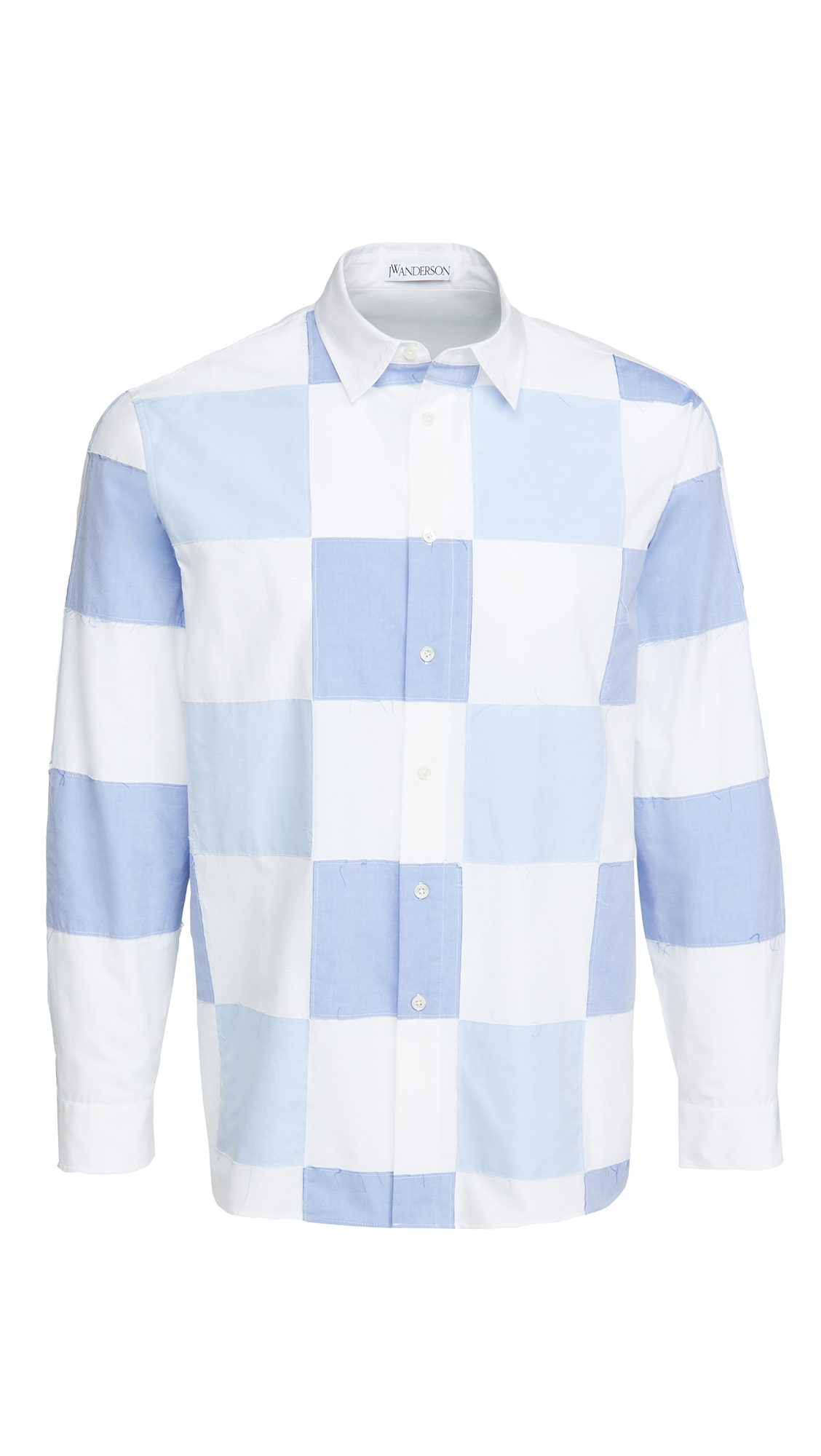 J.W. Anderson Checkerboard Applique Shirt