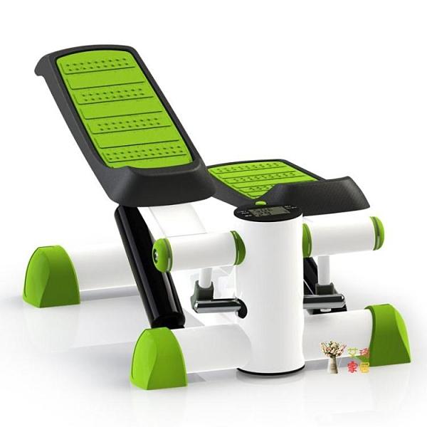 踏步機 腳踏機踏步機免安裝多功能腳踏機家用運動健身器材T