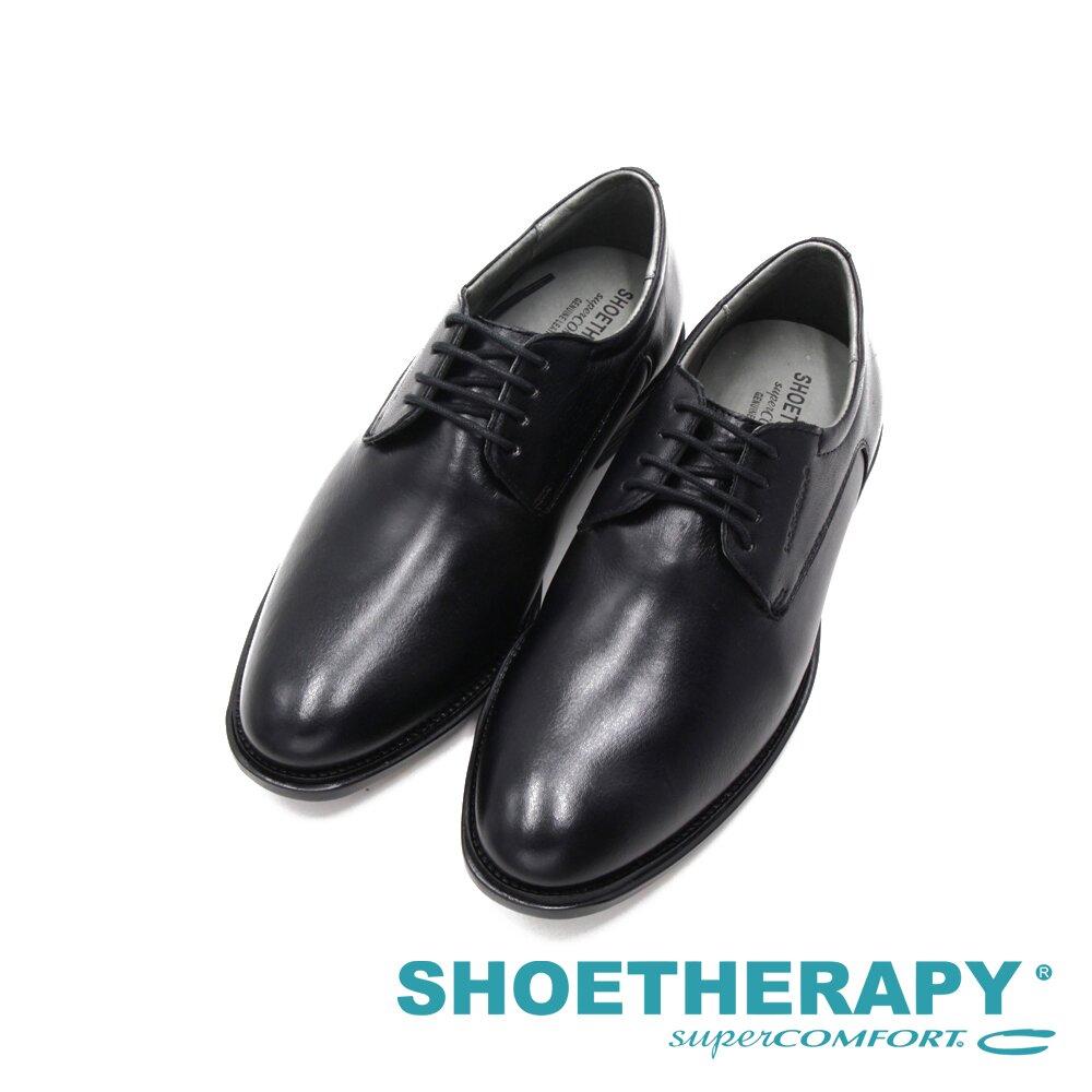 SAPATOTERAPIA巴西男士經典延續繫帶皮鞋 -黑