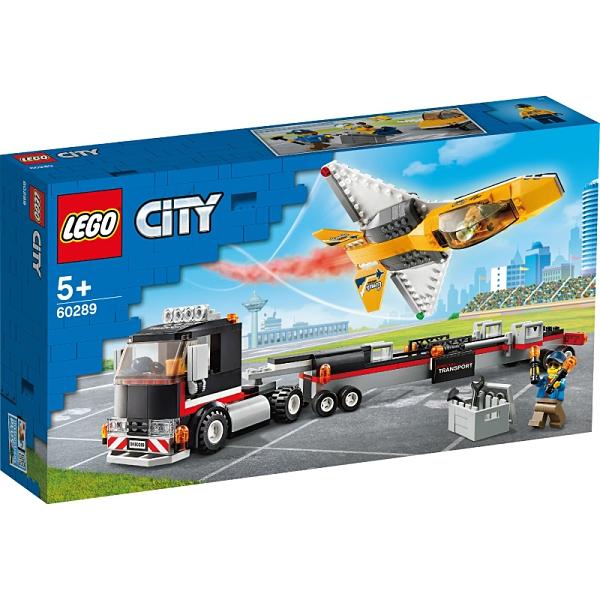 樂高積木Lego 60289 空中特技噴射機運輸車