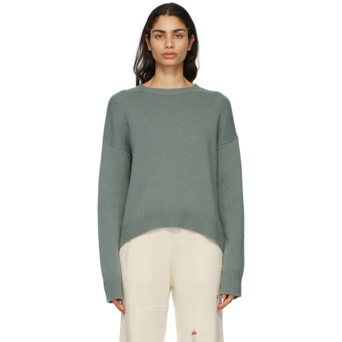 arch4 绿色 Knightsbridge 羊绒毛衣