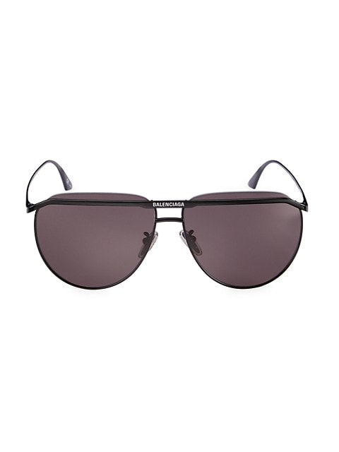 62MM Pilot Sunglasses