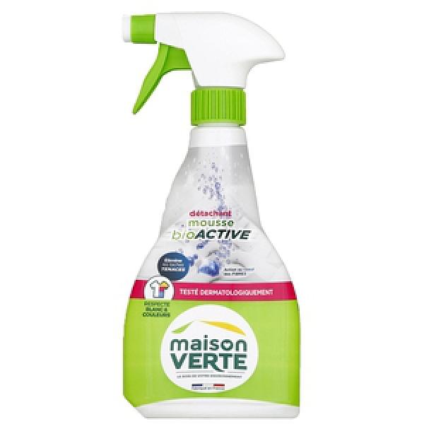 法國綠墅Maison Verte活性泡沫衣物去汙劑500ML-2入組