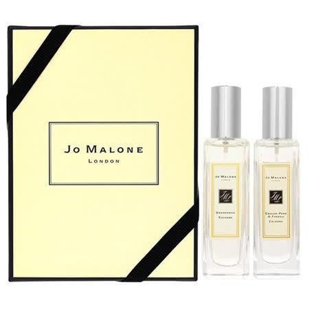 JO MALONE 英國梨與小蒼蘭古龍水30ML+葡萄柚古龍水 30ML 禮盒 附贈原廠提袋