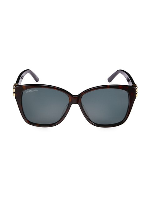 59MM Square Sunglasses