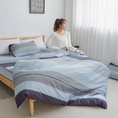 【小日常寢居】#U118#舒柔超細纖維6*7尺(180*210cm)標準雙人被套-台灣製