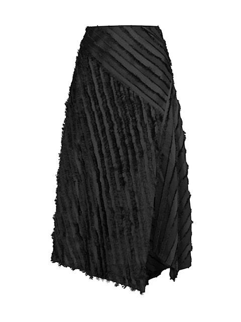 Eyelash Stripe Skirt