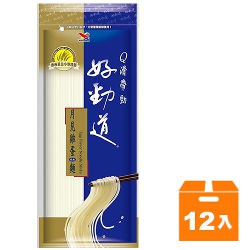 統一好勁道-月見雞蛋風味麵300g(12入)/箱