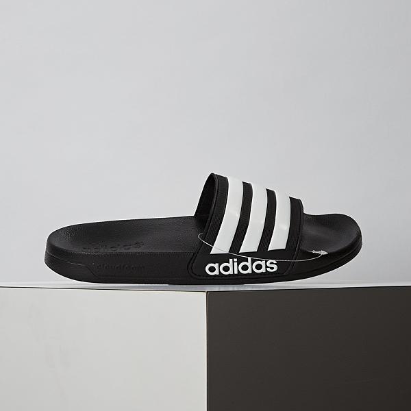 Adidas Adilette Shower 女鞋 黑色 拖鞋 AQ1701