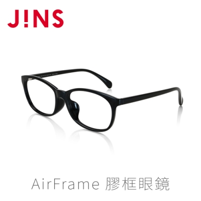 JINS AirFrame 膠框眼鏡(特ALRF16S025)黑色