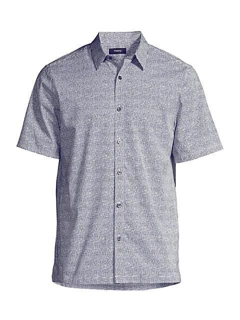 Irving Lumen Print Shirt