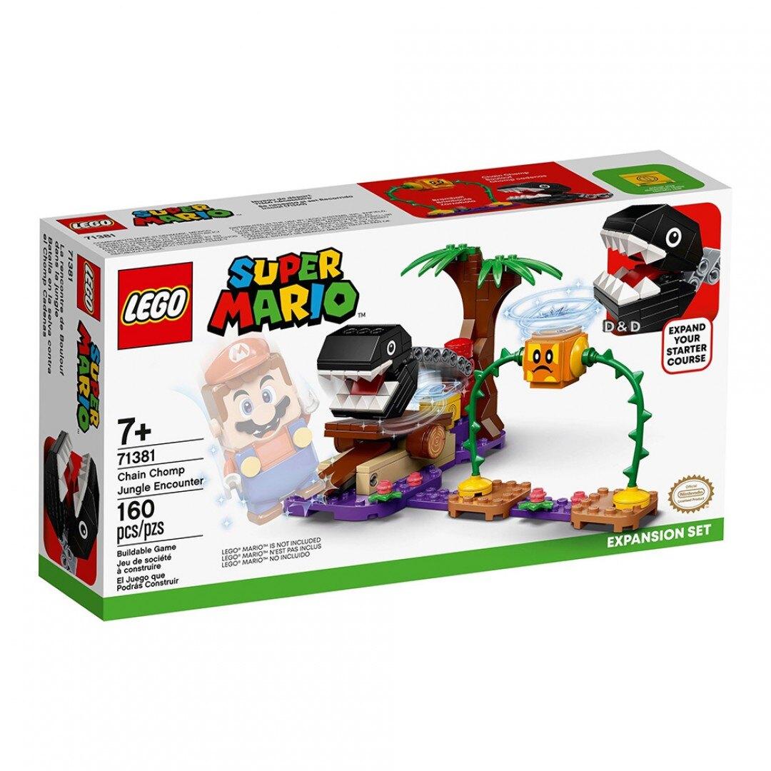 樂高LEGO 71381   Super Mario 瑪利歐系列 汪汪叢林奇遇