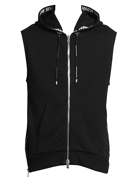 Hooded Side Zip Vest