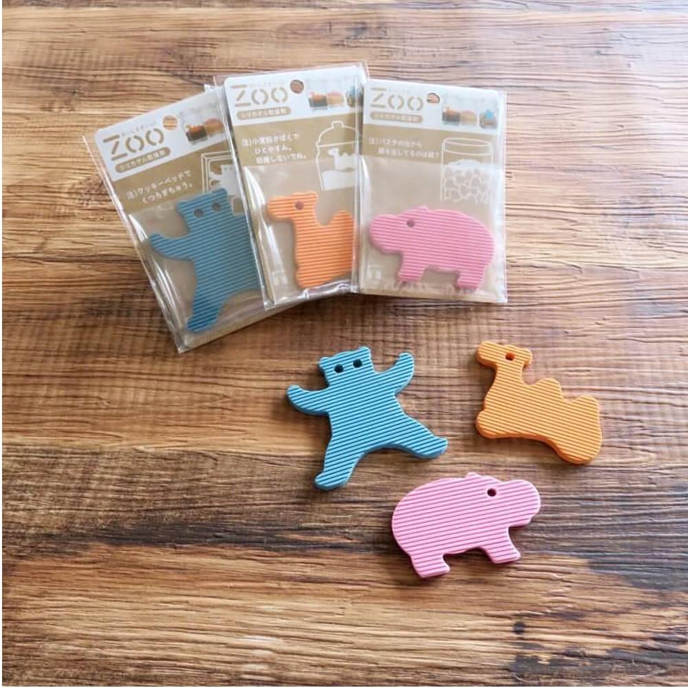 TOWA 東和產業 日本製 ZOO 動物 造型 乾燥劑 除濕防潮 除溼片 食物乾燥劑 (河馬)(駱駝)(熊)