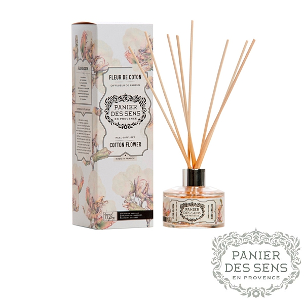 法國 Panier des Sens 雲絮棉花 Cotton Flower 100ML 天然室內擴香