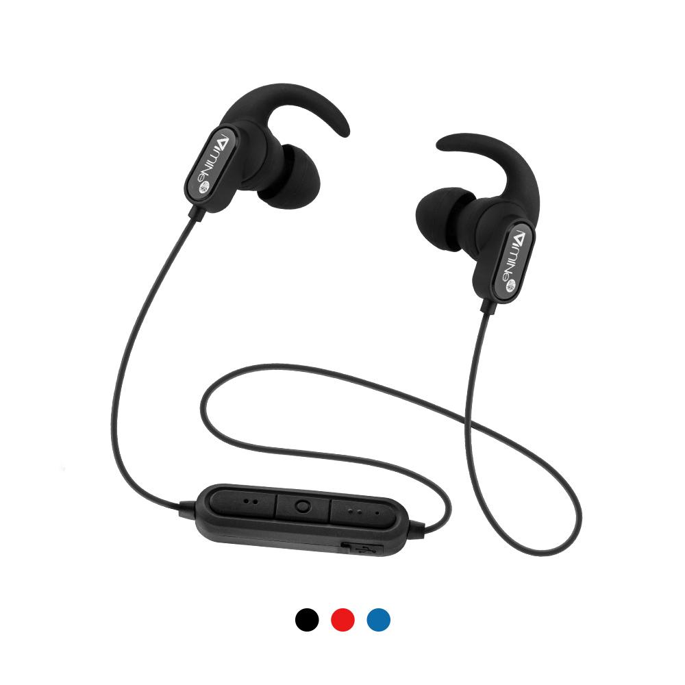 Mine峰 運動藍牙耳機 IPX5防汗防水 藍牙5.0 磁吸頸掛 防掉耳塞 可通話 MCK-594狂 藍芽耳機 耳塞式耳機 免持通話 無線耳機 影音用品 運動健身