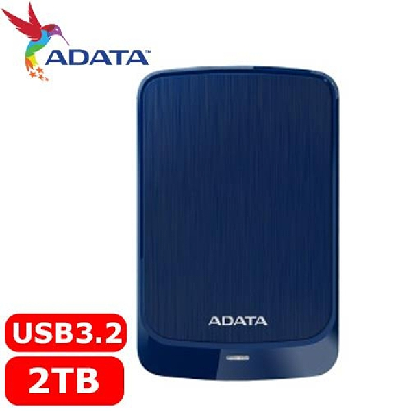 Adata 威剛 外接式行動硬碟 HV320-2TB 藍