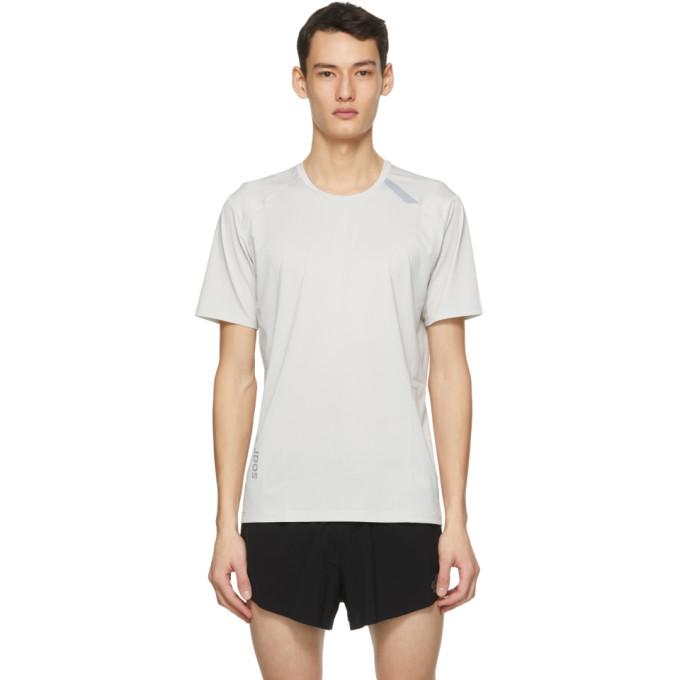 SOAR Running 灰色 Tech-T 2.5 T 恤