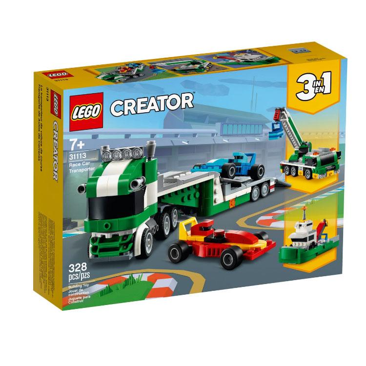 31113【LEGO 樂高積木】Creator 創意大師系列 - 賽車運輸車