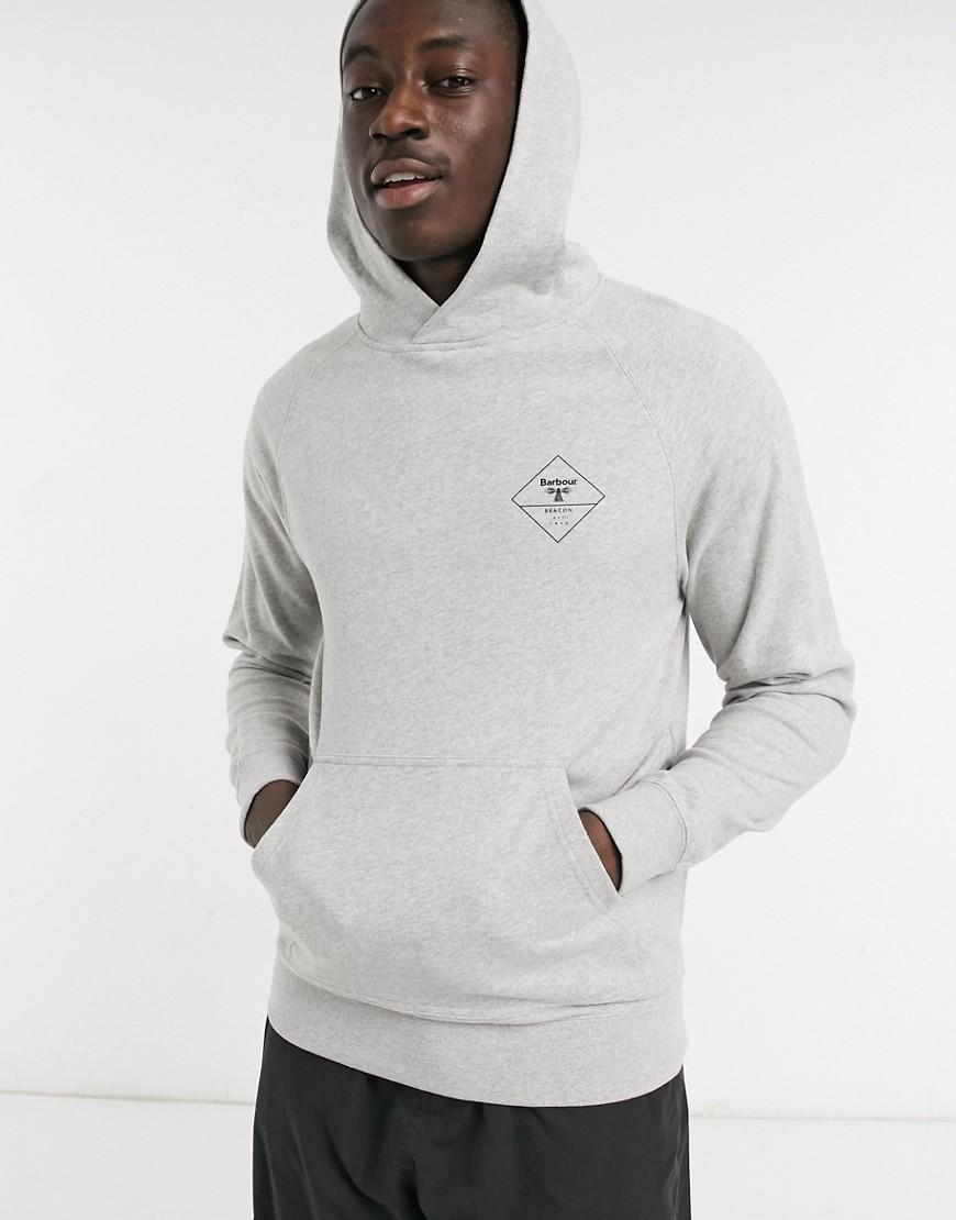 Barbour Beacon Netherley hoodie in grey