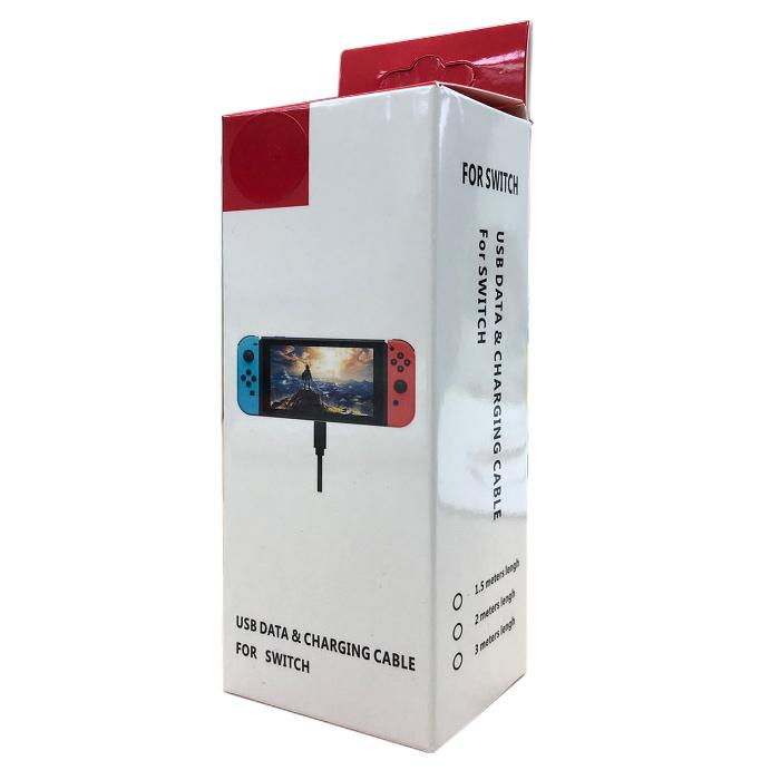 【NS周邊】Nintendo Switch Type-C主機充電線《台灣製造》