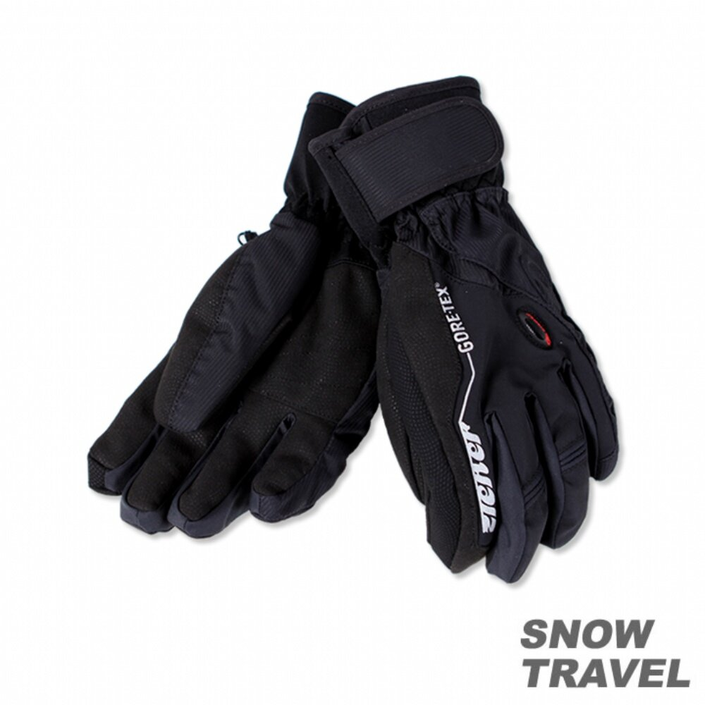 ZIENER PRIMALOFT+GTX 防水保暖手套 黑色