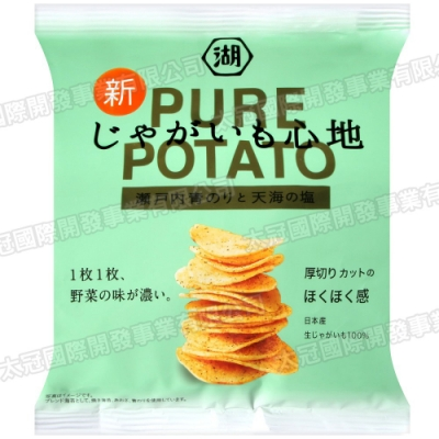 湖池屋 PURE POTATO海苔薯片(58g)