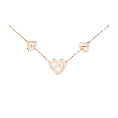 Caur Entrelacé necklace