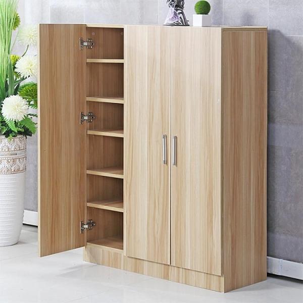 陽臺鞋櫃現代簡約家用門口大容量實木鞋櫃鞋櫥收納櫃多功能門廳櫃 夢幻衣都